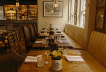 The British Brasserie / Our informal British brasserie of seasonal, sustainable British produce, with a fresh and eclectic wine list!