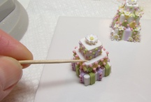 miniature dollhouse  cakes