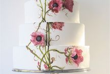 Wedding Cakes || Painted
