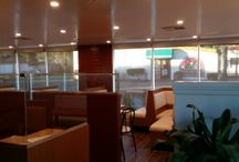 Heavenly Pancake San Fernando / pictures of shades installed during Heavenly Pancakes remodel