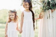 Flower girls & ring bearer
