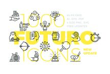 Icons / Outline / Handpicked collection of inspirational outline icons (free and premium) for your next webdesign or graphic design project. // Take a look at my other design related boards for more inspiration on Graphic Design, Typography, Webdesign, Illustration and Photography.
