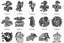Diseños de tatuajes aztecas