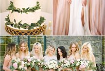 Spring Wedding Inspiration / Is your spring wedding pale pink, pastel mint, or lush green? Let us know, Angel Isabella Flowers can create flower decorations in every color to make your wedding day perfect.