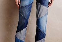Jeans remendados