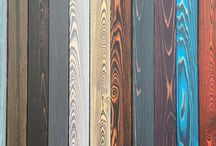 покраска, отжиг древесины