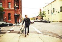 Cyklo styl gentlemen / O tom jak skvěle a stylově mohou muži vypadat na kole