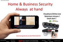 Sisteme supraveghere premium / Home & Business Smart Home Protection KIT! Cea mai inteligenta si sigura solutie de a proteja casa sau businessul tau este Sistemul de alarma conectat si configurat sa functioneze impreuna cu Sistemul de supraveghere! Smart Home Protection KIT este un kit cu produse compatibile, de ultima generatie, testate de echipa noastra tehnica ca si fiabilitate si calitate, special creat din gama de produse premium, pentru case, spatii comerciale mici, birouri, service-uri auto etc.