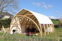 stavby s vonou dreva