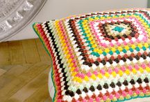 Granny Squares / ¡Diseños, formas y colores! Un poco de inspiración para tejer tus projectos a crochet con granny squares