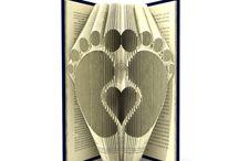Book folding pattern ideas