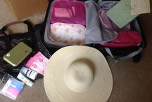 Packing Process / Watch me pack efficiently for a destination wedding to Mexico!