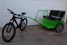 bicycle & trailers / by Marie-Josée Lafleur