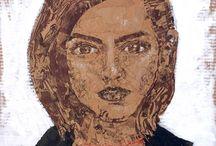Feminist Bags: portrait series by Lois Keller
