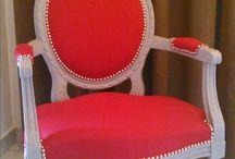 Relooking de fauteuil