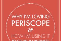 """Periscope / """"Periscope is the new video streaming platform that is taking the social media world by storm."""" #Periscope"""