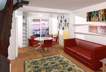 Mobili soggiorno su misura / Tutti i mobili soggiorno che realizziamo a Roma e provincia per i nostri clienti. Negli arredamenti che realizziamo ci mettiamo il cuore, speriamo che vi piacciano.