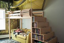 Clever space, kids rooms / Small space