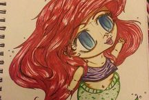 Ariel / Because I love this little mermaid :)