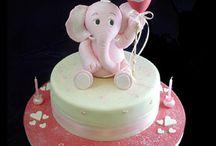 Ella's pink elephant birthday