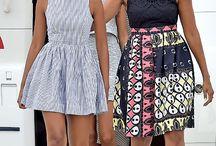 Fashion Style | Michelle Obama / #MichelleObama #fashionicon