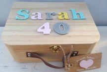 milestone memory box 40th birthday