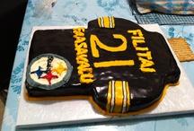 Steelers Jersey Cake