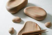 wood tableware