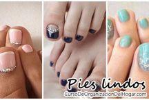 Pies lindos, tendencias en decoracion de uñas de los pies para lucir con estilo