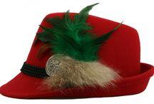 Dirndlhüte und Trachtenhüte Trends 2015 bei www.trachtenheimat.de / Edle neueste Unikathüte von Goldstich für dein Trachtenoutfit, egal ob zum Dirndl oder zur Lederhose, damit bist du der Hingucker!