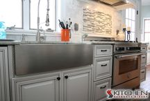 Painted Cabinets / by Cabinets.com by Kitchen Resource Direct