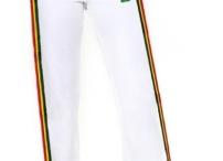 Capoeira pants for Women of Mestres Brasil / Discover the capoeira pants made and created for women by the team of Mestres Brasil. (the pants have a female cut not a unisex cut !!! yahoo ! Viva Mestres !;) )