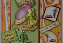 kaarten Marij Rahder / Kaarten met afbeeldingen van Marij Rahder