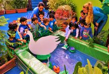 World Wetlands Day / To educate the little kids about safeguarding against disasters naturally and thus making them to understand that cutting of trees, pollution etc., will cause natural disasters. Wetlands are the natural protection against disasters…