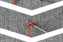 вышивка и декоративные строчки