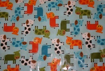 MOO! Fabric of the Month Feb 2013 / We love cows. In all forms.....