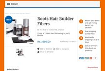Roots Hair Builder Fibers /  Hair Thickening In Just 1 Minute  Roots Hair Builder Fibers  Hair thickening in just 1 minute    Contains natural fibre      No skin allergies or side effects     Absolutely stainless and easy to remove     Hair build up for the day