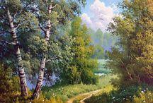 Картины природа