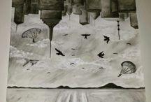 Bunt und Kreativ / Auf dieser Pinnwand geht es um meine Bilder, welche aus meiner Feder entstanden sind.