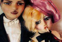boudoir/smoker dolls