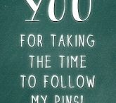 For My Pin Friends!! / by Racheal Williams