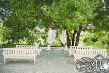 Wedding decoration in rustic style/Свадебный декор в рустикальном стиле
