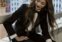Fashion: girls in suits