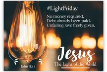 BlackFriday to LightFriday / Sharing the Love of Jesus on Black Friday