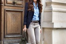 Chic work looks