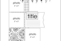 Scrapbooking Layouts / by Jill Ellis