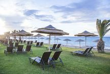 Pool & Beach / View the stunning pool and beach area of the Ixian Grand and all Suites Resort