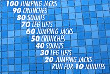 Workout for swimmers