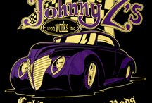 Hot Rod T-Shirts for Ladies / Hot Rod Inspired Clothing by Johnny Z's