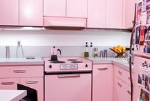 I've always wanted a Pink Kitchen